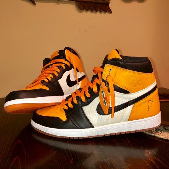 separation shoes 0c63d 006ad Air Jordan 1 // Gatorade CUSTOM SBB // Size 13